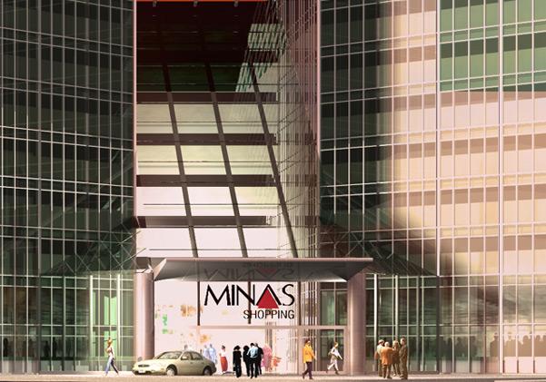 Minas Shopping ampliação